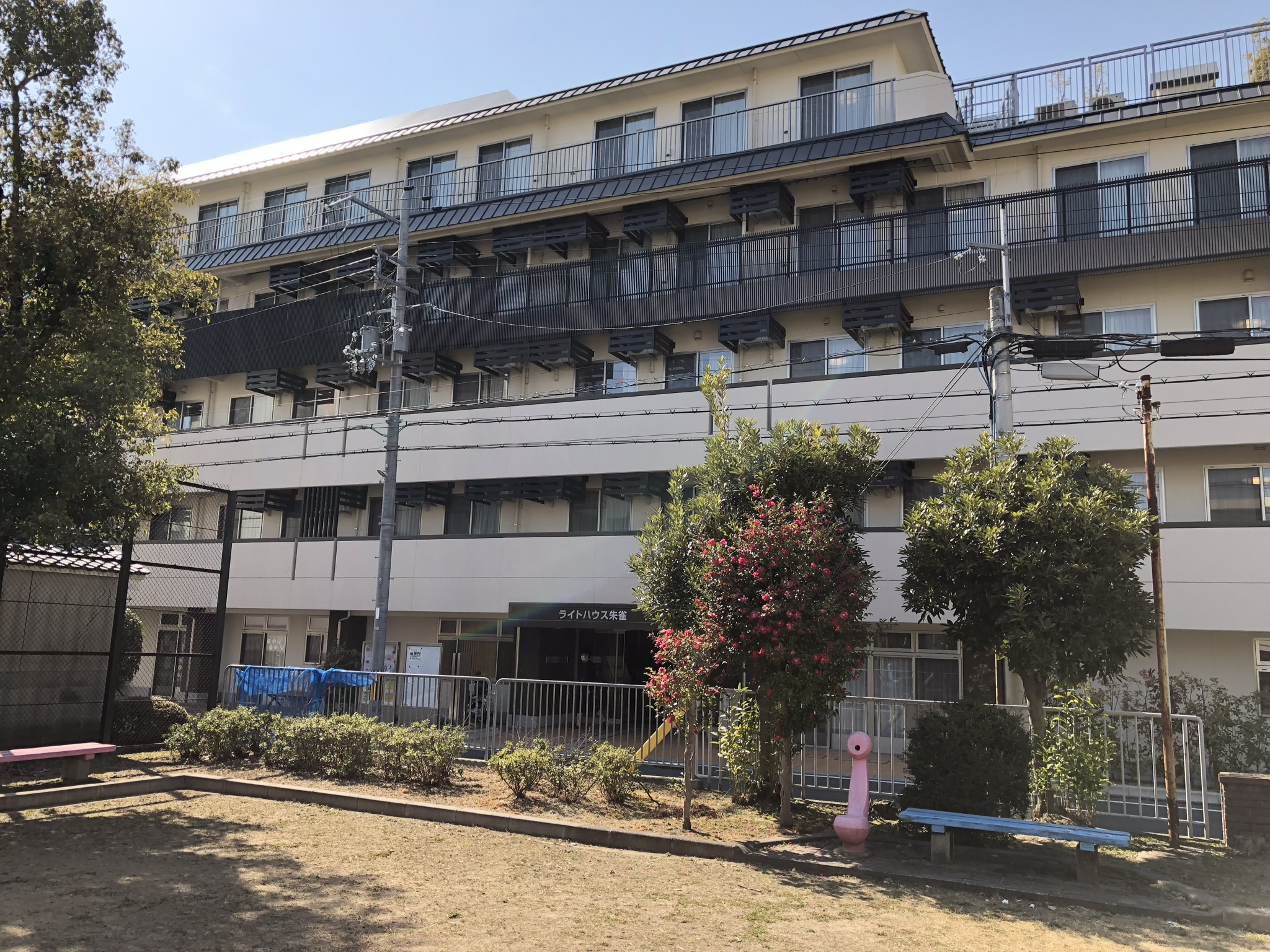 京都ライトハウス新船岡寮・内装工事