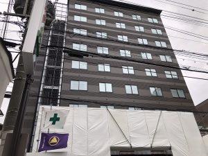 ホテル内装工事、中盤に差し掛かって来ました。